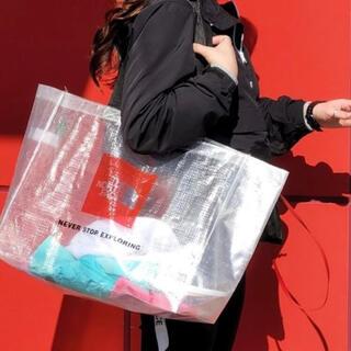 ザノースフェイス(THE NORTH FACE)の新品未使用 韓国正規品 ノースフェイス クリア トートバッグ ショルダーバッグ(トートバッグ)