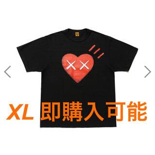 アベイシングエイプ(A BATHING APE)のhumanmade kaws 黒 XL(Tシャツ/カットソー(半袖/袖なし))