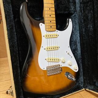 フェンダー(Fender)のfender japan st57-65 jvシリアル(エレキギター)
