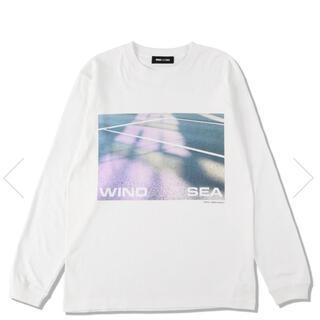 SEA - windandsea  フォトプリント 長袖Tシャツ ロンT ウィンダンシー