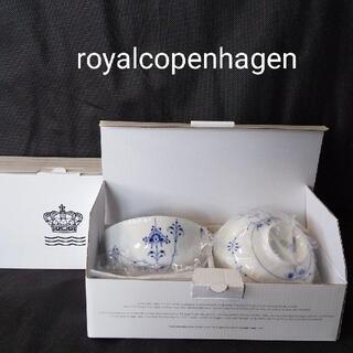 ROYAL COPENHAGEN - ロイヤルコペンハーゲン ブルーパルメッテ ライスボウル 2個セット