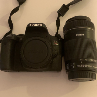 canon x9i ボディ esf 55-250mm 望遠レンズ