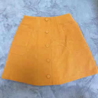 ダズリン(dazzlin)のdazzlin 台形スカート(ひざ丈スカート)