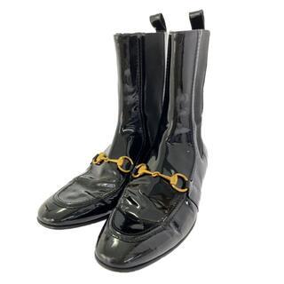 グッチ(Gucci)のグッチ  サイドゴアブーツ(ショートブーツ) 靴(ブーツ)