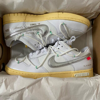 """Off-White × NIKE DUNK LOW """"The 50"""" Lot1(スニーカー)"""