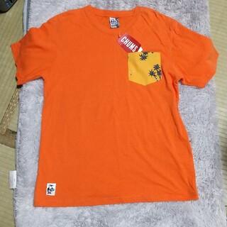 チャムス(CHUMS)のCHUMS 綿麻100%Tシャツ(Tシャツ/カットソー(半袖/袖なし))