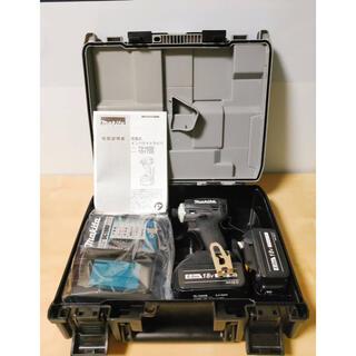 マキタ(Makita)のマキタ インパクトドライバー TD172DRGX 黒 互換バッテリー セット(工具/メンテナンス)