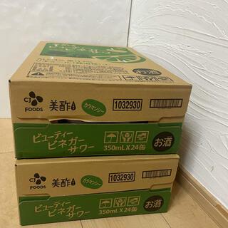 美酢 ビネガーサワー (カラマンシー)350ml  24本×2  48本