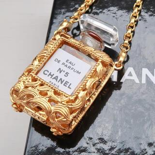CHANEL - 未使用 本物 シャネル CHANEL No.5 香水瓶 ミニボトル ネックレス
