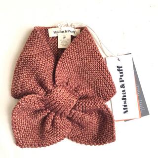 キャラメルベビー&チャイルド(Caramel baby&child )のmisha&puff sledding scarf 新品タグ付き マフラー(マフラー/ストール)