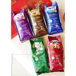 タリーズコーヒー(TULLY'S COFFEE)のタリーズ☕️✧2021福袋 コーヒー豆 5袋セット(コーヒー)