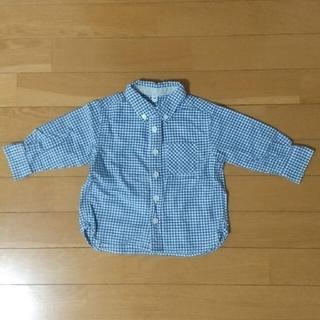 ムジルシリョウヒン(MUJI (無印良品))の80サイズ 無印シャツ(シャツ/カットソー)
