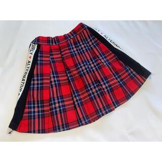 AIGY★チェック柄スカート  130 アルジー