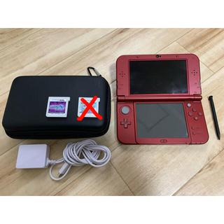 ニンテンドー3DS - new  Nintendo 3DS LL メタリックレッド 生産終了品