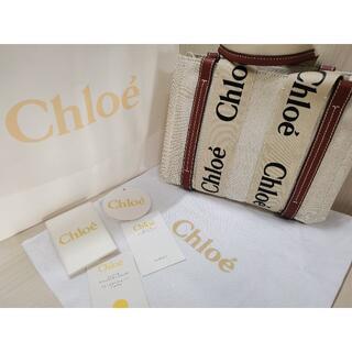 Chloe - 新品に近いChloe クロエ WOODY スモールトートバッグ