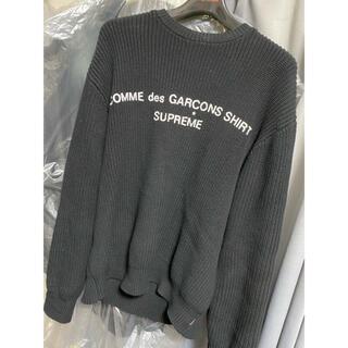 シュプリーム(Supreme)のsupreme×コムデギャルソン セーター(ニット/セーター)
