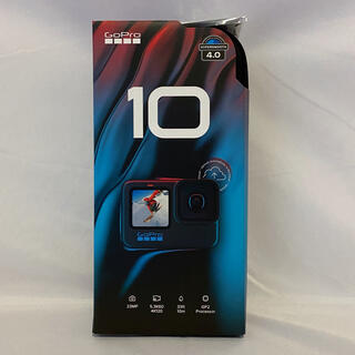 GoPro - GoPro HERO10 Black CHDHX-101-FW