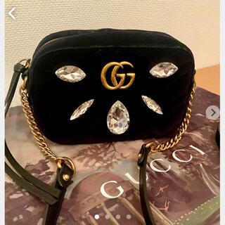 Gucci - ✧‧˚✤GUCCI✤✧‧˚ マーモント ビジューバッグ