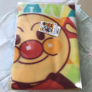 BANDAI - アンパンマン フリースブランケット 膝掛け 毛布