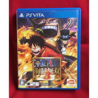 PlayStation Vita - 送料込 ワンピース 海賊無双3 Vita