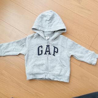 ベビーギャップ(babyGAP)のGAP baby パーカー(トレーナー)