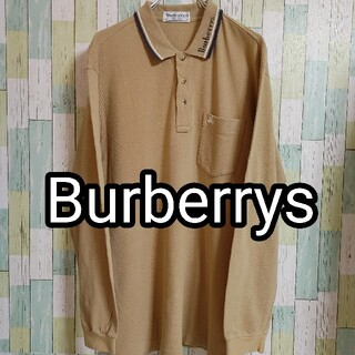 BURBERRY - Burberrys バーバリーズ 100% コットン 刺繍 ゆるだぼ Lサイズ