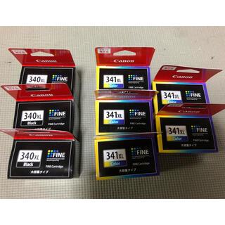 Canon - キャノン 純正品 大容量タイプ インク 340XL 341XL