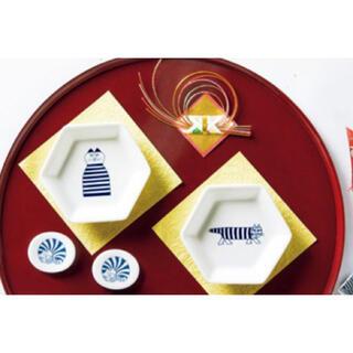 Lisa Larson - リサラーソン 六角豆皿&箸置きセット