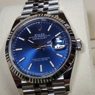 ROLEX - ROLEX デイトジャスト 126234 WG ブルー文字盤 新ギャラ 未使用品