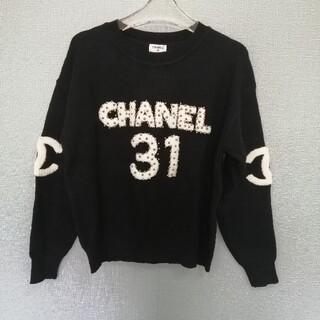 CHANEL - 未使用品!(シャネル) ニット/セーター Mサイズ