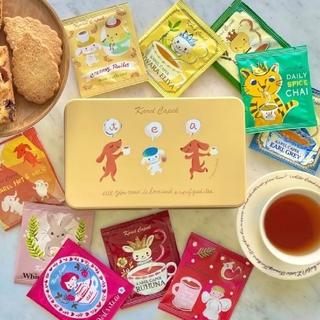 カレルチャペック紅茶店✤冬限定!10Tea lover缶/ヤッピーズ