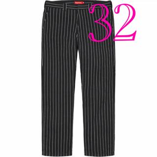 Supreme - Supreme 21SS Work Pant Black Stripe 32