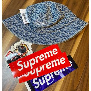 Supreme - S/Mサイズ supreme Monogram Denim Crusher