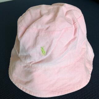 ポロラルフローレン(POLO RALPH LAUREN)のラルフローレン 女児帽子 リバーシブル(帽子)
