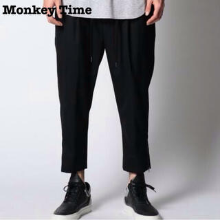 BEAUTY&YOUTH UNITED ARROWS - Monke Time / MT TW/SRG DROPPED ANKL BLK