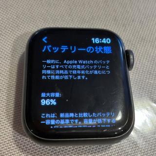Apple Watch - apple watch se 40mm スペースグレー