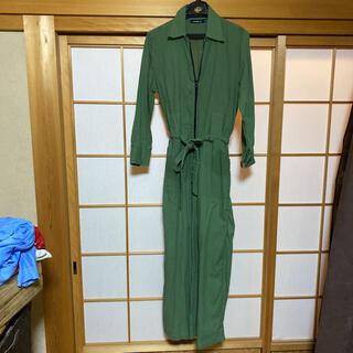 LOCAL'E グリーン オールインワン ジャンプスーツ