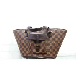 LOUIS VUITTON - Loius Vuitton ルイヴィトン マノスク PMダミエ トートバッグ