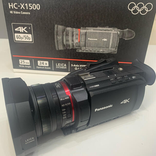 Panasonic - Panasonic デジタル4Kビデオカメラ HC-X1500-K