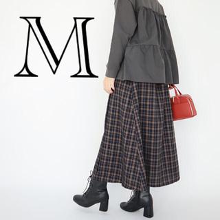 しまむら - 新品 しまむら てら terawear コラボ チェック柄 ロングスカート