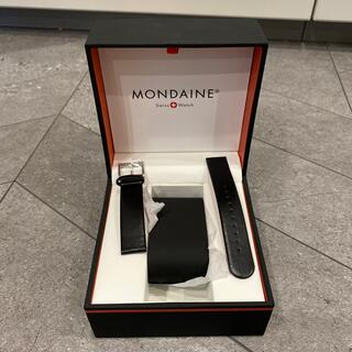 MONDAINE - 新品未使用 MONDAINE  モンディーン 替えベルト 黒 赤