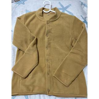 ムジルシリョウヒン(MUJI (無印良品))の無印良品 フリース イエロー系 サイズ140(ジャケット/上着)