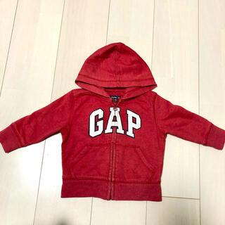ベビーギャップ(babyGAP)のbaby GAP パーカー 80(トレーナー)