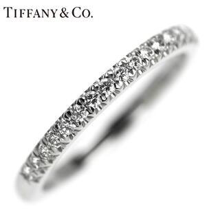 Tiffany & Co. - 【10/24掲載終了】ティファニー Pt950 ダイヤモンド リング ソレスト