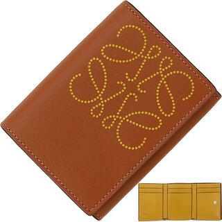 LOEWE - LOEWE 財布 レディース 三つ折り 新品 レザー ロエベ 155907