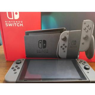 Nintendo Switch - Nintendo Switch 本体 Joy-Con グレー【おまけ付】
