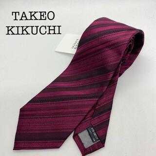 TAKEO KIKUCHI - 【新品(218)】タケオキクチ ネクタイ マルチレジメンタル柄