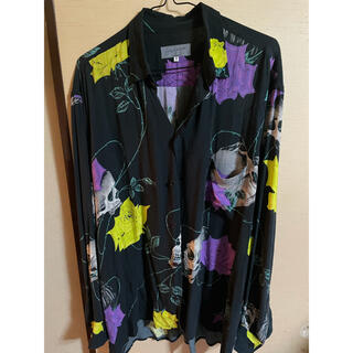 ヨウジヤマモト(Yohji Yamamoto)の【限定カラー】スカルローズシャツ(シャツ)
