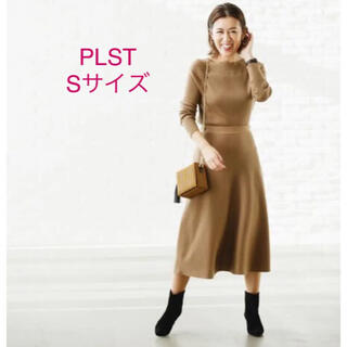 PLST - ほぼ新品*大草直子さん着 PLST*ニットセットアップ