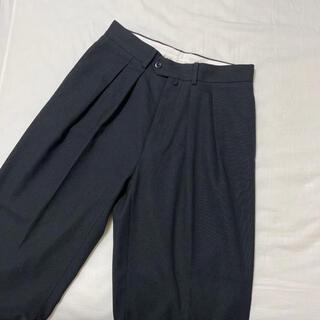 COMOLI - 【44】NEAT Hopsack Wide Pants 20SS ニート